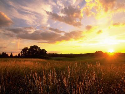 Sunset Over Salt Marsh, Essex, MA