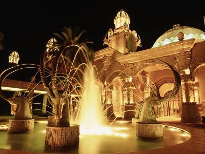 Palace Hotel's Fountain, Sun City, South Africa