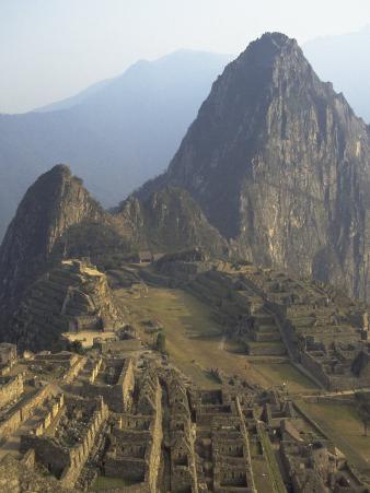 View of Ruins, Machu Picchu, Peru