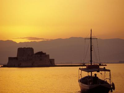 Bourtzi Island Fort, Nafplio, Peloponnesos, Greece