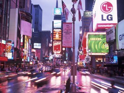 Times Square at Night, NYC, NY