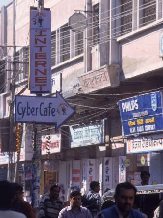 Internet Cafe, India