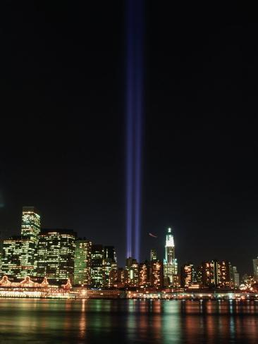 World Trade Center Memorial Lights, New York City
