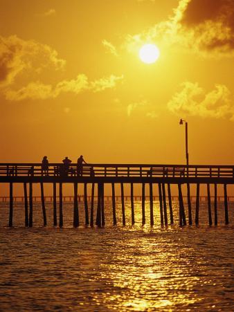 Sunset Over Virginia Beach, VA
