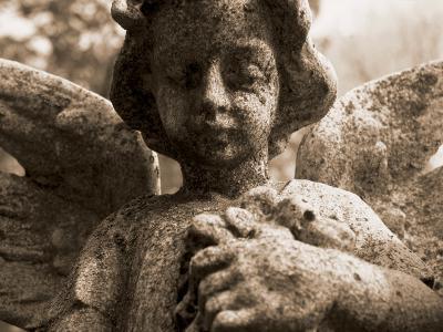 Guardian Angel in Cemetery