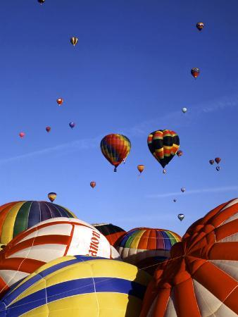 Colorful Hot Air Balloons, Albuquerque, NM