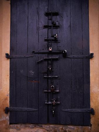 Door with Locks, Haiti