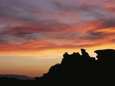 Sunset over Painted Desert, Arizona