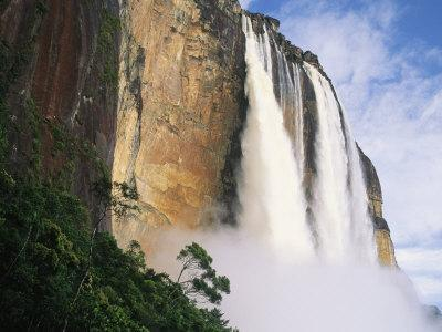 Angel Falls, Cliffs and Trees