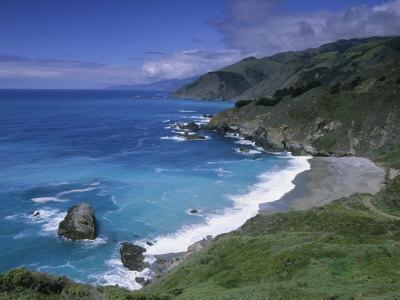 Rugged Coastline, Turquoise Water and the Beach North of Gamboa Point