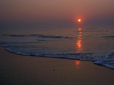 A View of the Assateague Island Surf at Sunrise