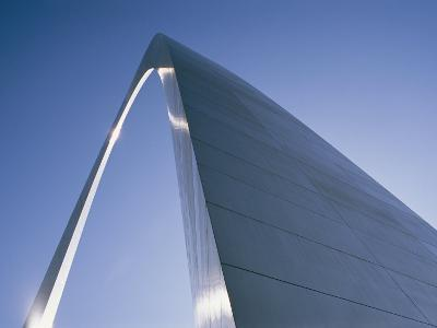 Skyward View of the Gateway Arch