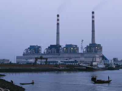 Coal-Burning Power Plant That Uses Coal Imported from Australia