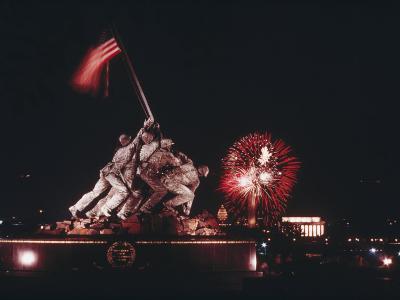 A Fireworks Display Crowns the Washington, D.C. Skyline