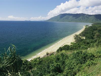 Shoreline View in Queensland, Australia