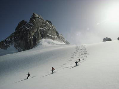 Powder Skiing in the Bugaboos