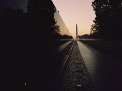 The Vietnam Veterans Memorial at Sunrise
