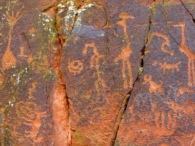 Petroglyphs Believed to Have Been Made by the Sinagua Indians