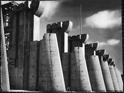 Fort Peck Dam as Featured on the Very First Cover of Life Magazine