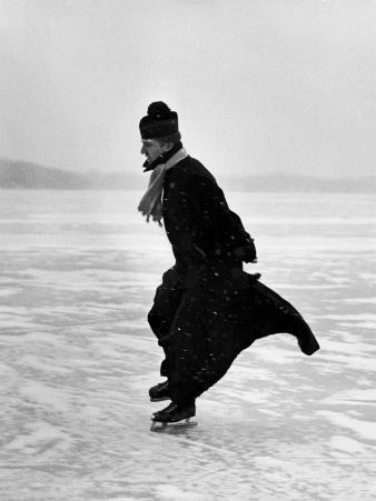 Catholic Priest Ice Skating