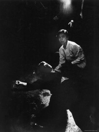 Sen. Robert Kennedy Sprawled Semiconscious in Own Blood on Floor After Being Shot in Brain and Neck