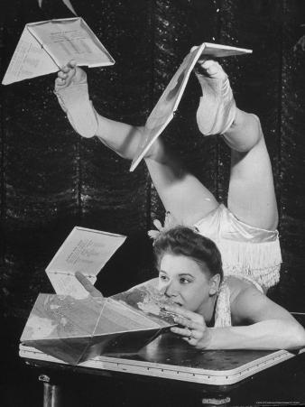 Contortionist Assembling a Dymaxion Map