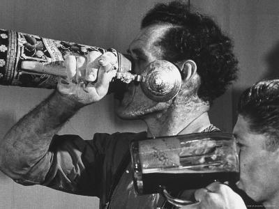 Bavarian Beer Drinkers
