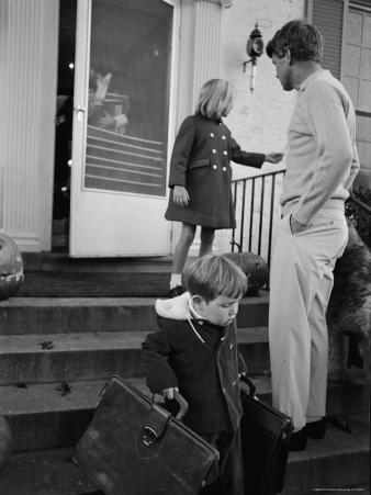 Robert F. Kennedy with His Children