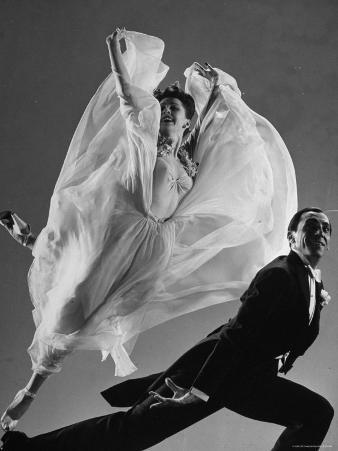 Tony and Sally Demarco, Ballroom Dance Team, Performing