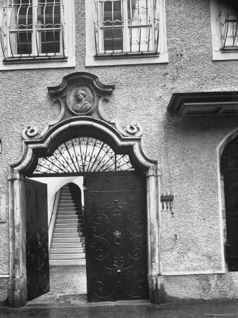 Wolfgang Amadeus Mozart's Birthplace in Salzburg