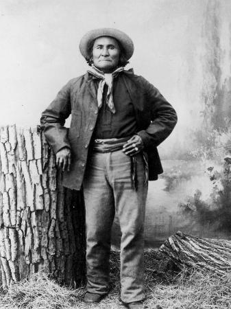 Portrait of Apache Leader Geronimo