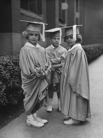 Three Kindergarteners Graduating Today