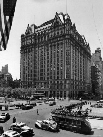 Overall View of the Plaza Hotel