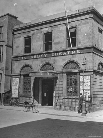 View of the Abby Theater in Dublin