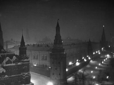 The Kremlin at Night