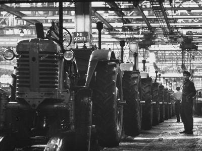 Tractor Plant in Minsk
