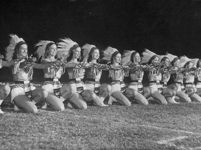 The Tyler Apache Belles of Tyler Junior College