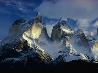 Scenic View of the Cordillera De Paine
