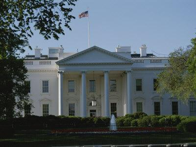 Spring View of the White House