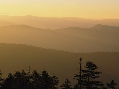 View from Clingmans Dome on the Tennessee/North Carolina Border
