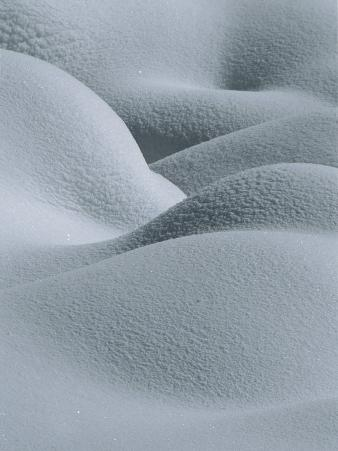 Soft, Gentle Rolling Snow Pillows