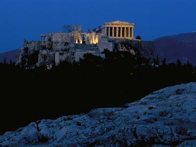 The Acropolis Photographed from the Pnyx