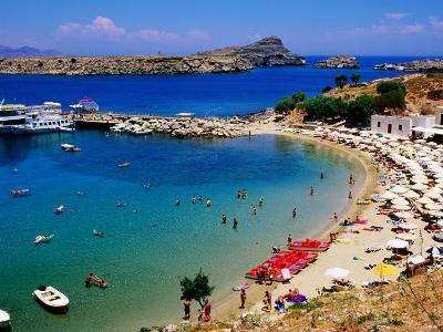 Lindos Beach, Lindos, Greece