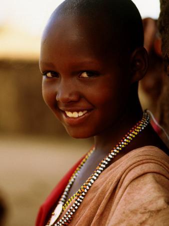 Maasai Girl, Masai Mara National Reserve, Kenya