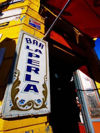 Bar Entrance, La Boca, Buenos Aires, Argentina