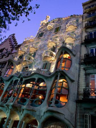 Casa Batllo, Exterior, Barcelona, Spain