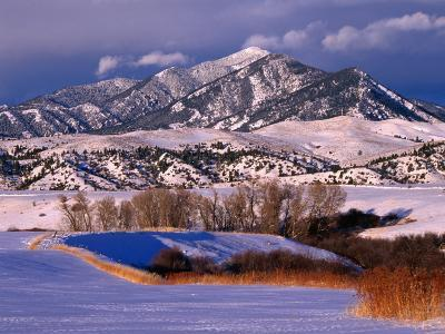 Bridger Mountain Range Near Bozeman, Bozeman, USA
