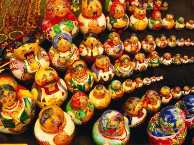 Matryoshka Dolls for Sale, Odesa, Ukraine