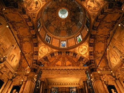 Chapel of St. John the Baptist Inside Cathedral San Lorenzo, Genova, Italy