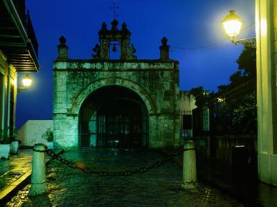 Capilla El Cristo in Old Town, San Juan, Puerto Rico